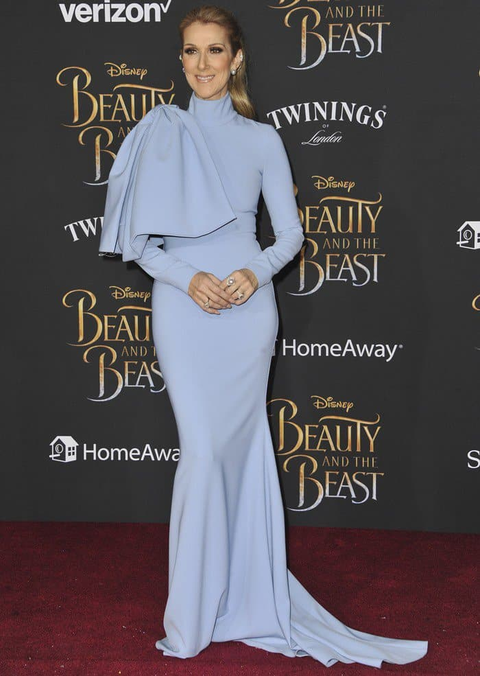 Celine Dion in Christian Siriano