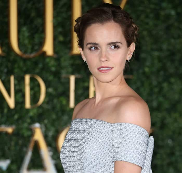 Emma Watson at the 'Beauty and the Beast' Launch Event held at the Spencer House in London
