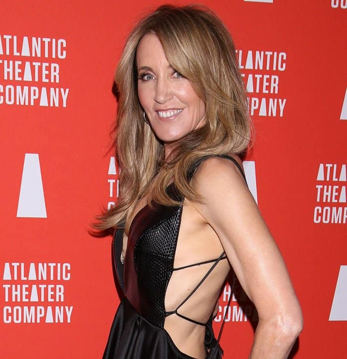 Felicity Huffman at the Atlantic Theater Company Directors' Choice Gala