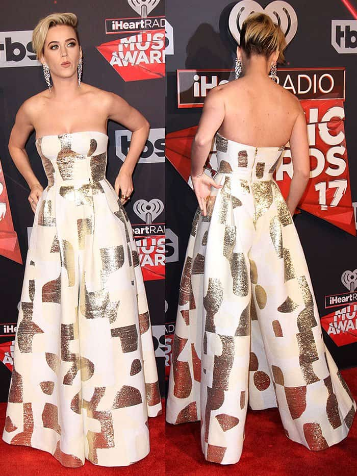 Katy Perry at the2017 iHeartRadio Music Awards