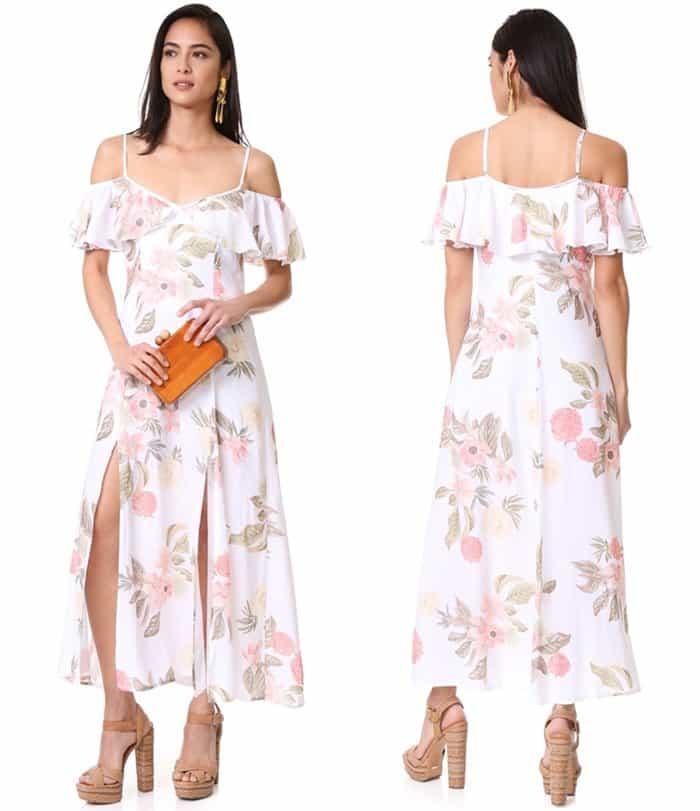 Somedays Lovin Off Shoulder Ruffle Dress