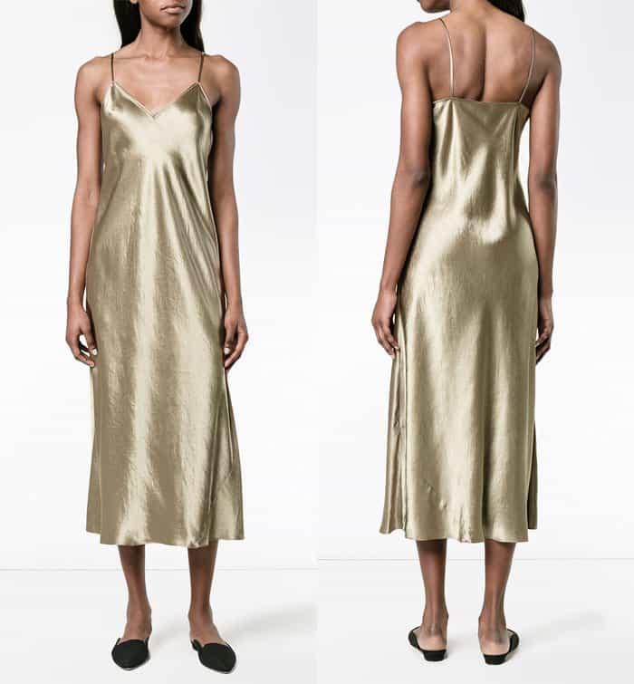 Vince V-Neck Slip Dress