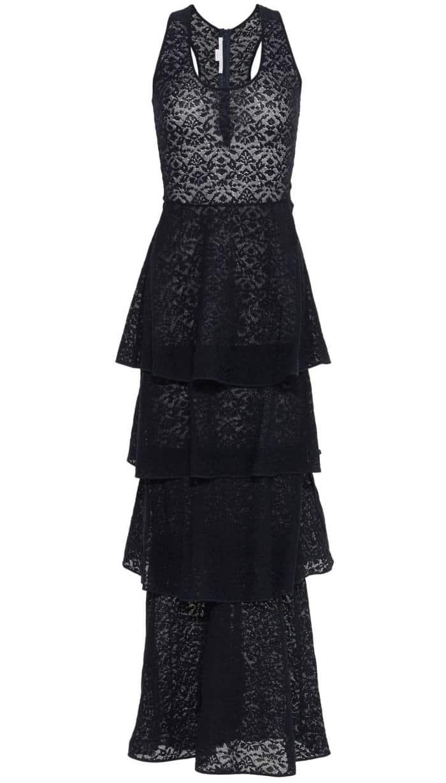Stella McCartney Navy Lace Knit Dress
