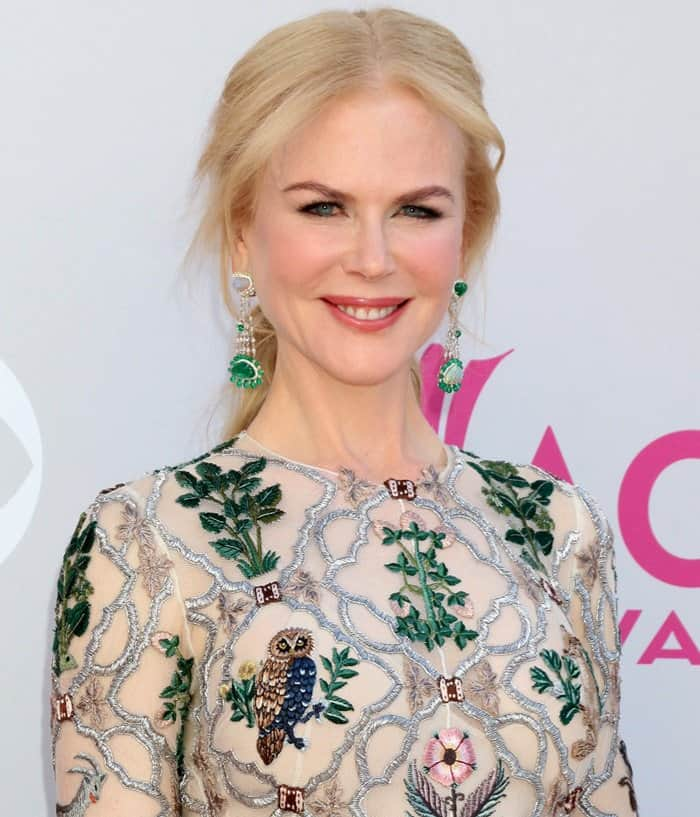Nicole Kidman at the 52nd Academy of Country Music Awards in Las Vegas