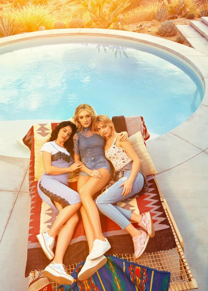 2017 H&M Loves Coachella Campaign Featuring The Atomics