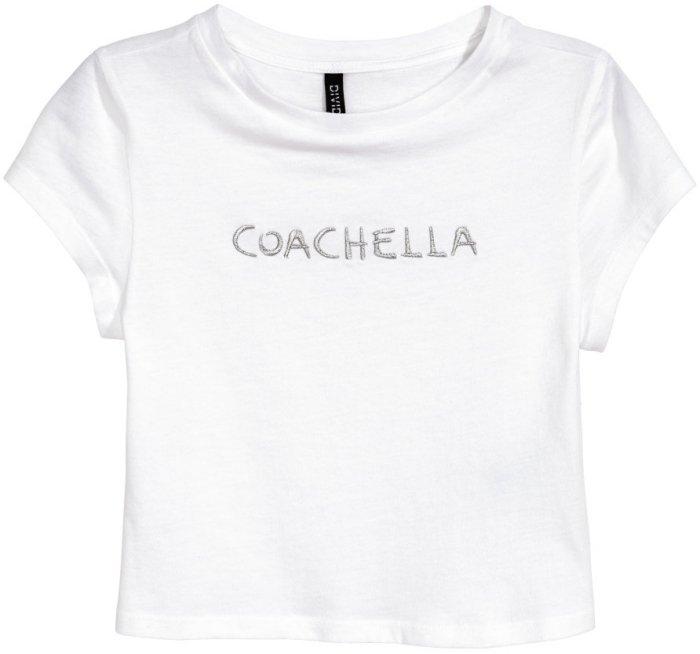 H&M Loves Coachella Short Top