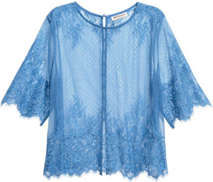 H&M Loves Coachella Lace Top