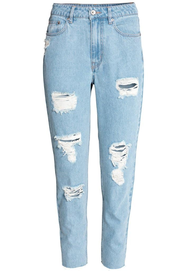 H&M Loves Coachella Mom Jeans Trashed