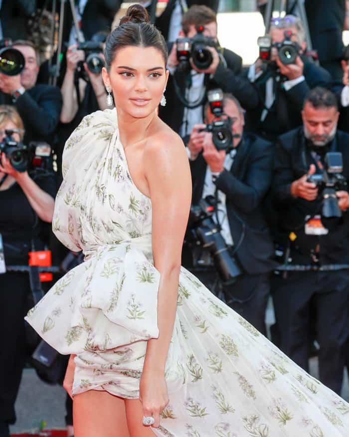 Kendall Jenner at 70th annual Cannes Film Festival '120 Beats per Minute' premiere held at Palais des Festivals in Cannes, France.