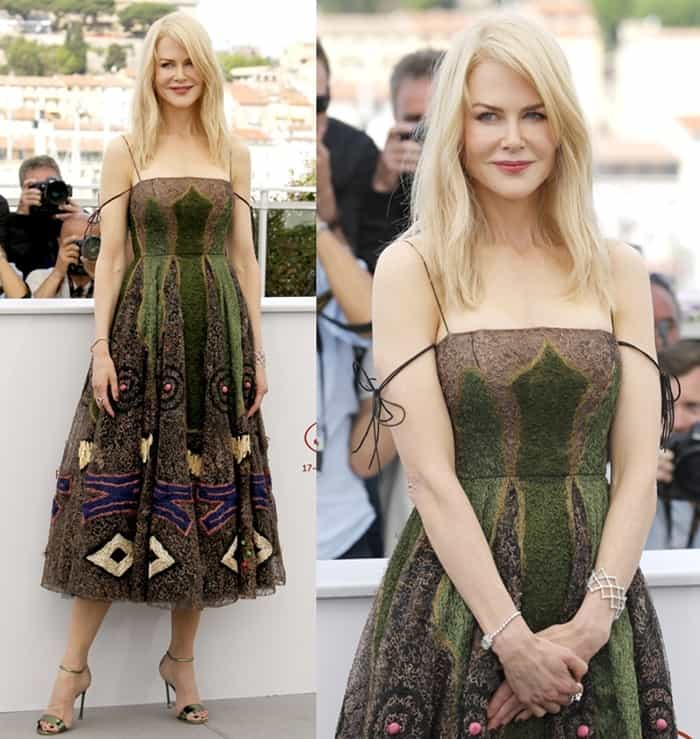 Nicole Kidman at the 70th annual Cannes Film Festival's photo call for The Killing of a Sacred Deer on May 22, 2017
