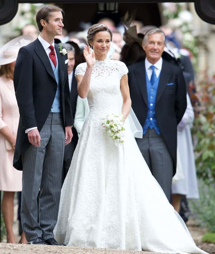 Pippa Middleton and James Matthews tied the knot at the St. Mark's Church in Englefield.