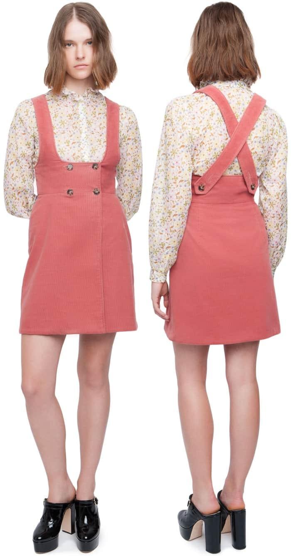 AlexaChung pinafore dress
