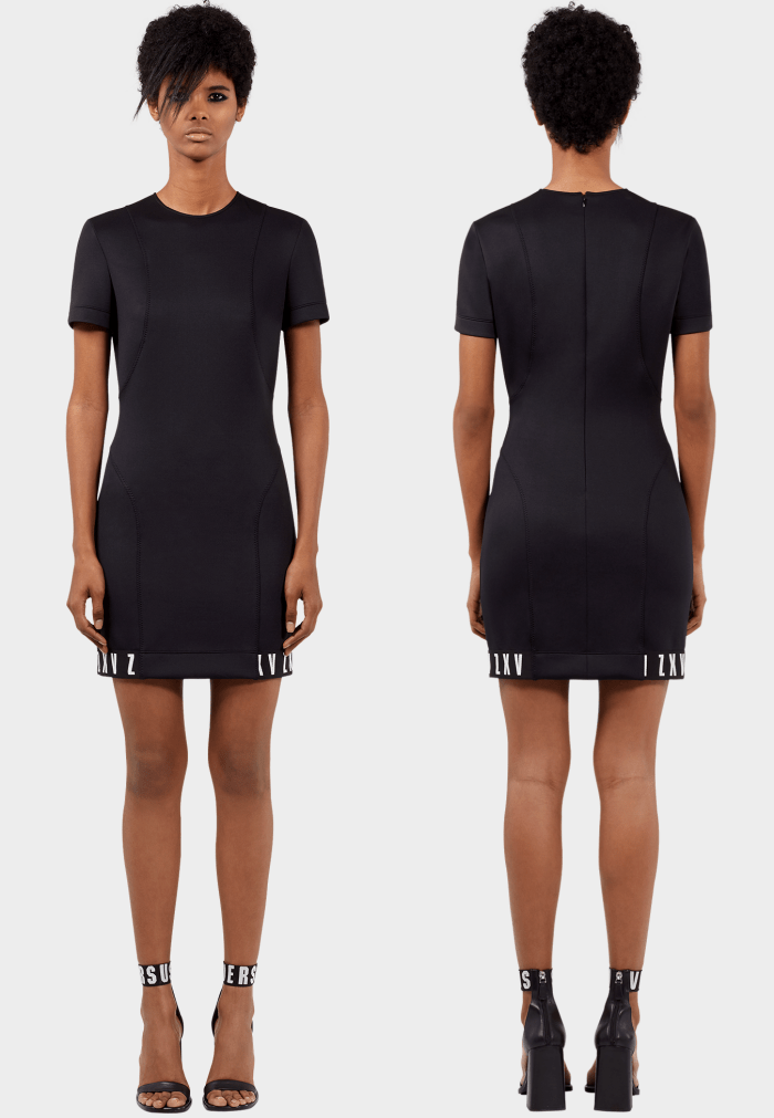 ZAYN x Versus scuba mini dress