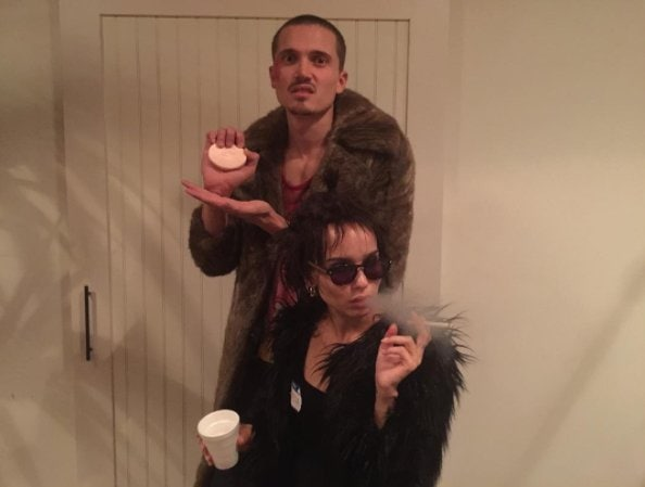 Zoe Kravitz as Marla Singer from The Fight Club.
