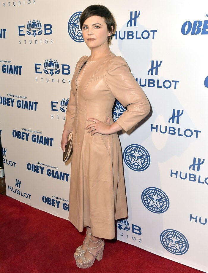 Ginnifer Goodwin attending 'Obey The Giant' documentary film screening in LA.