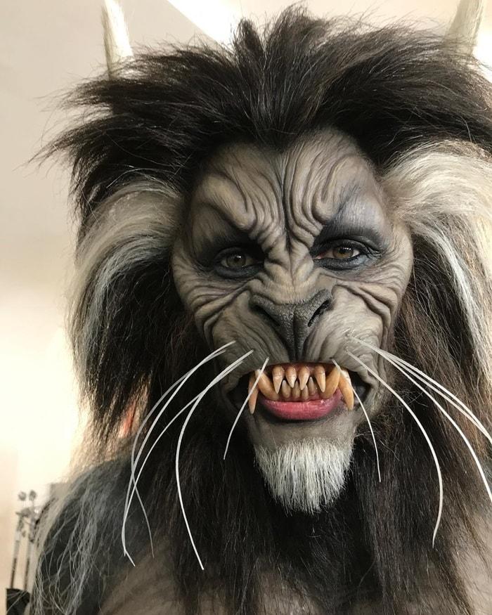 Michael Jackson Thriller Werewolf Mask 10 Best Celebrity Hall...