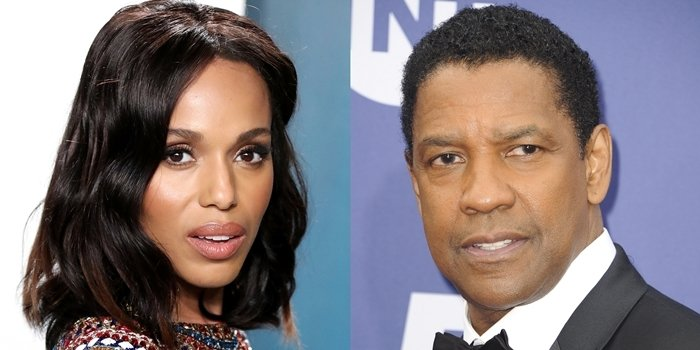 Denzel and Kerry Washington share the same surname but are not related