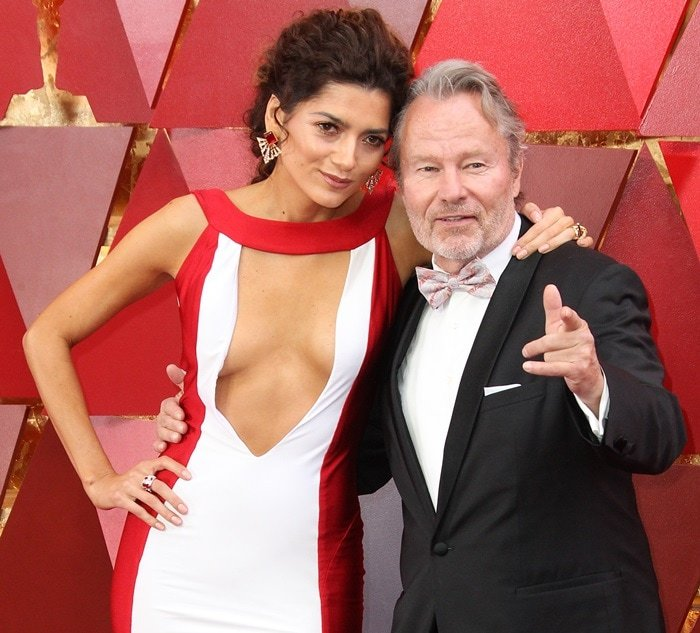 Blanca Blanco and John Savage have been dating several years already