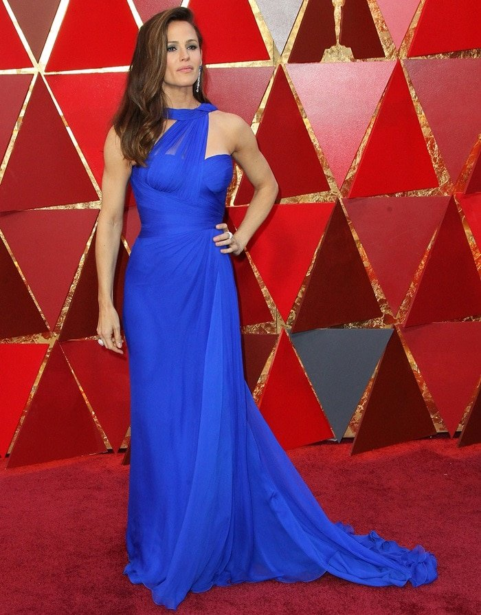Jennifer Garnerat the 2018 Oscars