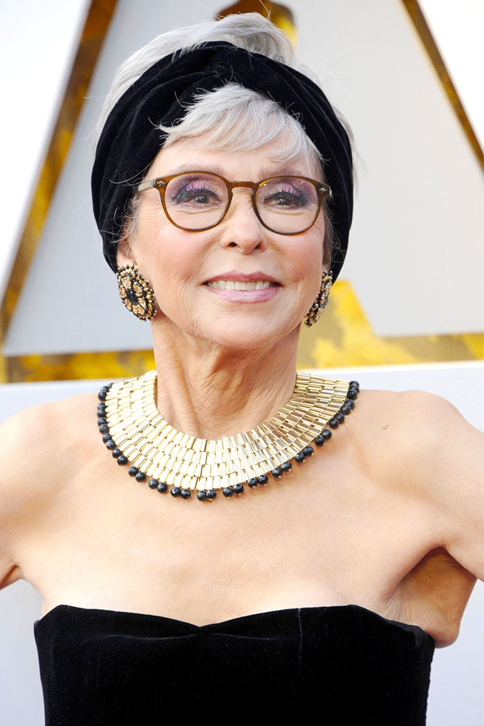 Rita Moreno in her Pitoy Moreno Oscars gown from 1962.