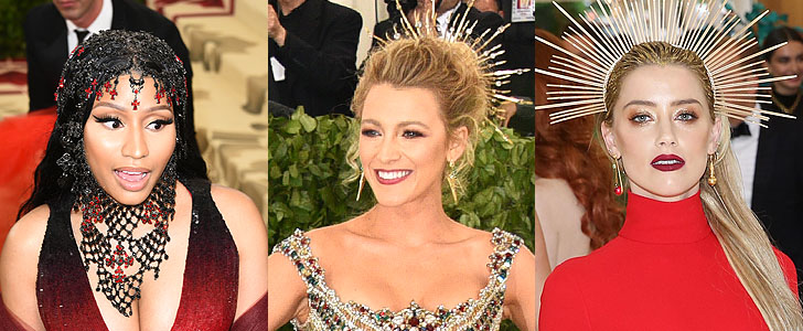 2018 Met Gala: The Ladies in Red and Headdresses